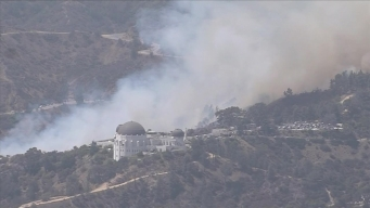 Firefighters Contain Fire That Burned in Griffith Park