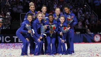 Biles Wins Women's Gymnastics Trials; Team USA Named