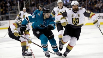 Full Schedule for Sharks-Golden Knights Series Released