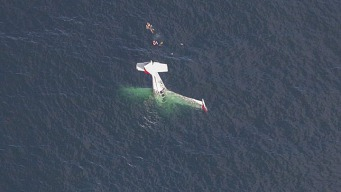 Small Plane Crashes Off Half Moon Bay; 2 Rescued