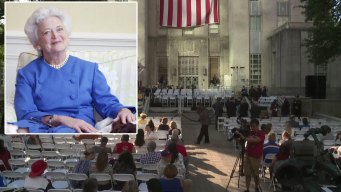 Live: Viewing of Former First Lady Barbara Bush