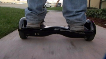 Hoverboard Store in New Jersey Catches Fire