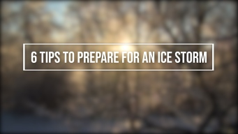 6 Tips to Prepare For an Ice Storm