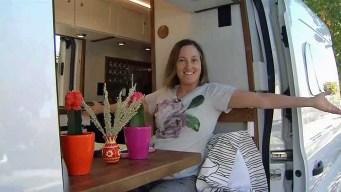 Veteran Journalist Gets Her 'Dream' Home on Wheels