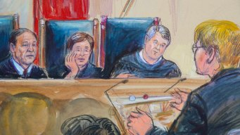 Court Mood Is Jovial as Kavanaugh Takes His Place on Bench