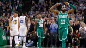 Kyrie Irving Details Why the Celtics Can Beat the Warriors in a Seven-game Series