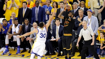Kyrie Irving Explains Mental Process Before Hitting Game-winning 3-pointer in Game 7 Vs Warriors