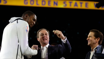 Joe Lacob: 'Of Course' the Warriors Will Have to Re-recruit Kevin Durant Next Summer