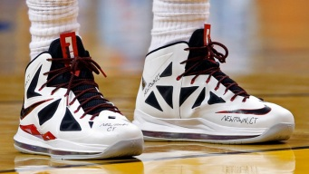 LeBron Shoes Being Auctioned for Newtown Families