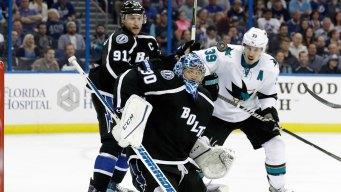 NHL Gameday: Sharks Host Lightning in Second of Back-to-back