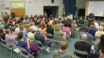 Fire Officials Meet With Community About Loma Fire