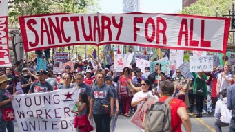 Thousands Take Part in Bay Area May Day Marches