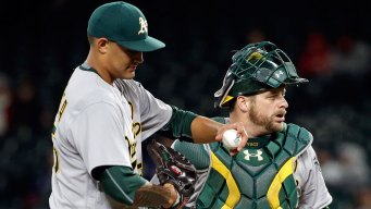 Manaea Hit Hard Early, A's Rally Falls Just Short