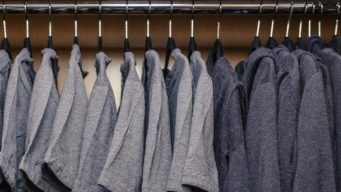 What to Wear? Zuckerberg Posts Photo of His Closet