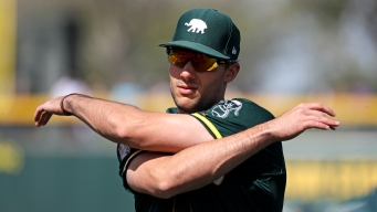 A's Vs. Astros Lineups: Matt Olson Looks to Extend 16-game Hit Streak