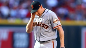 Giants Notes: Melancon Gets Injection; Kontos Gets an At-bat