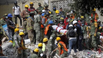 More Criticism of Mexican Government's Response to Quake