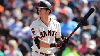 Mike Yastrzemski Starring for Giants After Getting Big League Chance