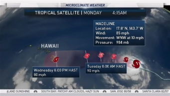 Rob Mayeda's Monday Forecast