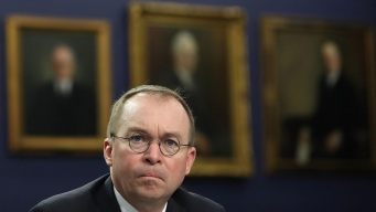 Mulvaney After Massacre: Trump 'Not a White Supremacist'