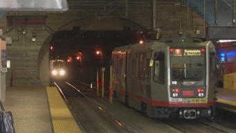 Rescue Crews Respond to Man on Top of Train in Muni Tunnel