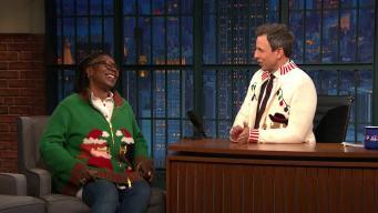 'Late Night': Whoopi Goldberg Shares Her Holiday Memories