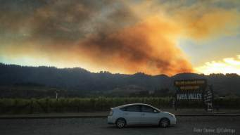 Creek Fire in Napa County 80% Contained: Cal Fire