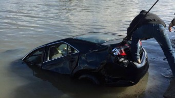 Three Youths Escape After Car Plunges Into Napa River