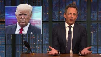 'Late Night': A Closer Look at Trump's Hurricane Dorian Sharpie Scandal