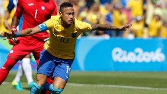 Neymar Powers Brazil to Finals, Scores Fastest Olympic Goal