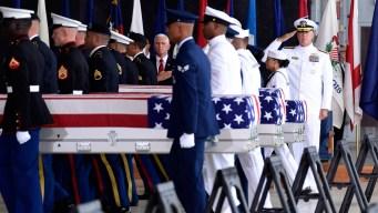 Remains of 2 American Servicemen Killed in Korea ID'd: Trump