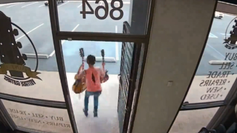 Women Caught on Camera Ripping Off $10,000 Vintage Guitars in Store Heist