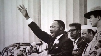 Photographing MLK's Dream Speech