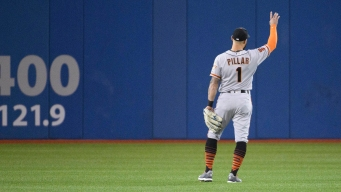 Kevin Pillar Emotional on Return to Rogers Centre for First Time Since Trade