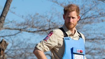 Prince Harry Visits Angola, Follows in Mother's Footsteps