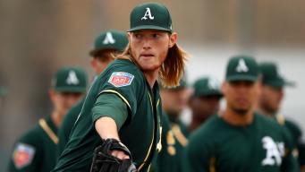 A's to Call Up Top Pitching Prospect A.J. Puk Before Yankees Series
