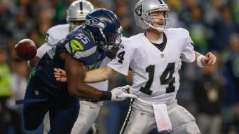 Raiders end preseason with loss to Seahawks