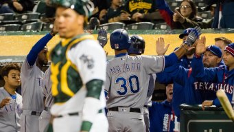 A's Shut Down by Old Friend Griffin, Drop Fourth Straight