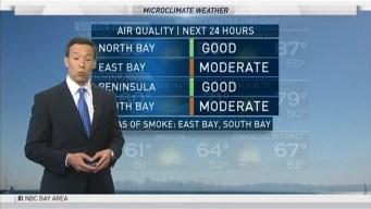 Smoke, Warmer Temps Ahead