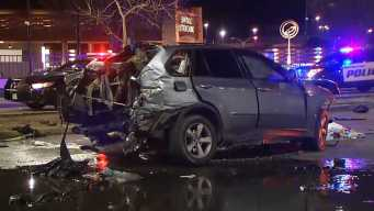 Driver Slams Into Cars, Fire Hydrant After East Bay Pursuit
