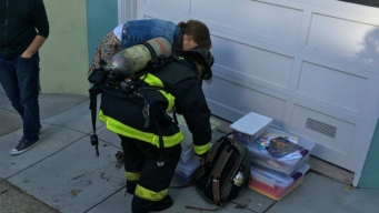 San Francisco Firefighters Save Priceless Family Photos