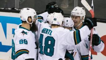 Vlasic Nets Overtime Winner to Lift Sharks Over Ducks