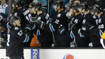Sharks Rue 'key Moments' as They Are Knocked Out by Oilers