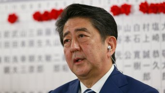 Japan Leader: Priorities Are North Korea and Aging Country