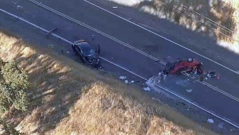 One Dead in Head-On Crash in Rural South San Jose