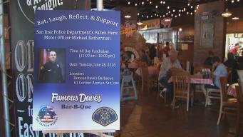 'Upbeat' Fundraiser Held For Fallen SJPD Officer Katherman