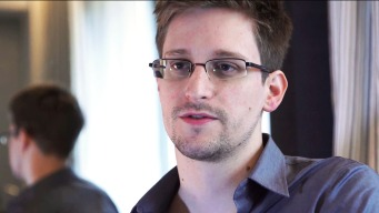 Snowden 'Beams In' to Real Future Fair in Oakland