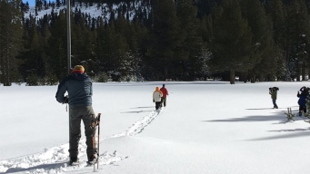 California Snowpack Above Average, But Not Enough