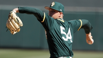 A's Ace Sonny Gray Cleared to Throw, But Return Date Unknown