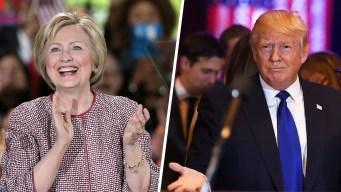 Poll: Clinton, Trump Lead in Pennsylvania